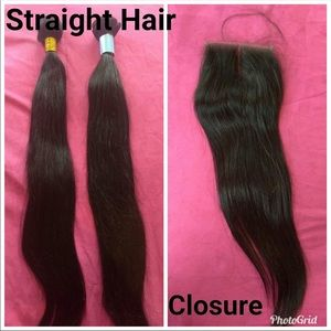 Closure with 3 20 inch bundles $200